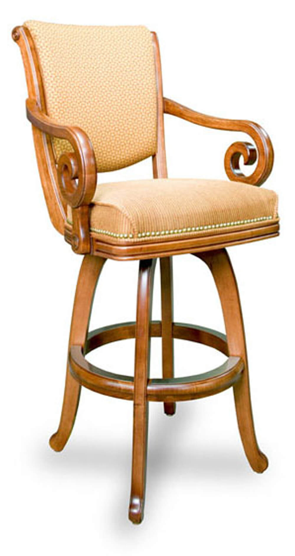 California House S2725 Swivel Bar Stool : S2725 Front L from www.diamondbackbilliards.com size 1000 x 1880 jpeg 109kB