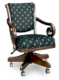 C 2715 Game chair wilth wheels