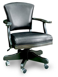 black excutive chair