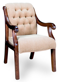 C 4305 tuffted suitting chair
