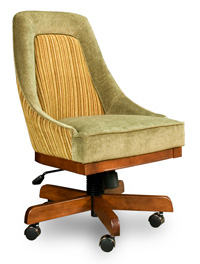 C 2815 Comfort chair with wheels and adjustable height