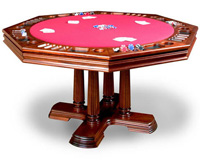California House Brookdale Poker Table