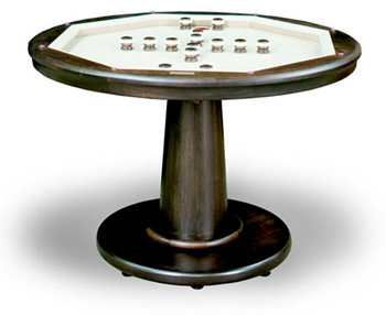 Custom California House Glen Ellen Poker Pub Table