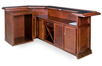 "Rutherford 108"" Home Bar"