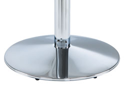 Chrome Round Base
