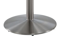 and 22 inch stainless steel base