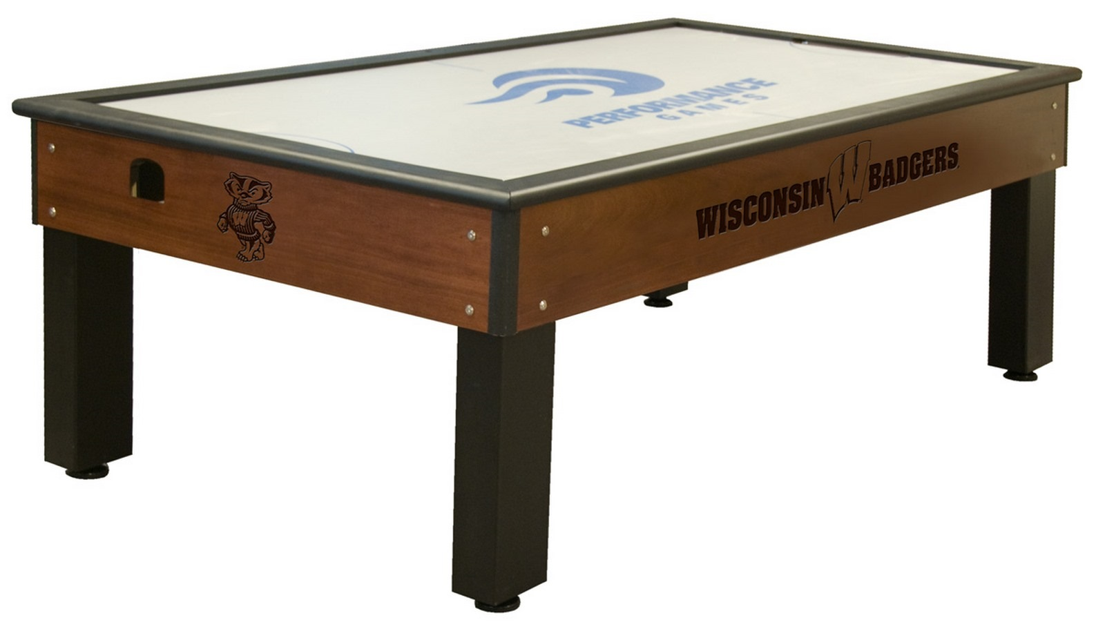 University Of Wisconsin Badger Air Hockey 100 Made In Usa