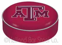 Texas A&M Bar Stool Seat Cover