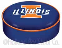 University of Illinois Bar Stool Seat Cover