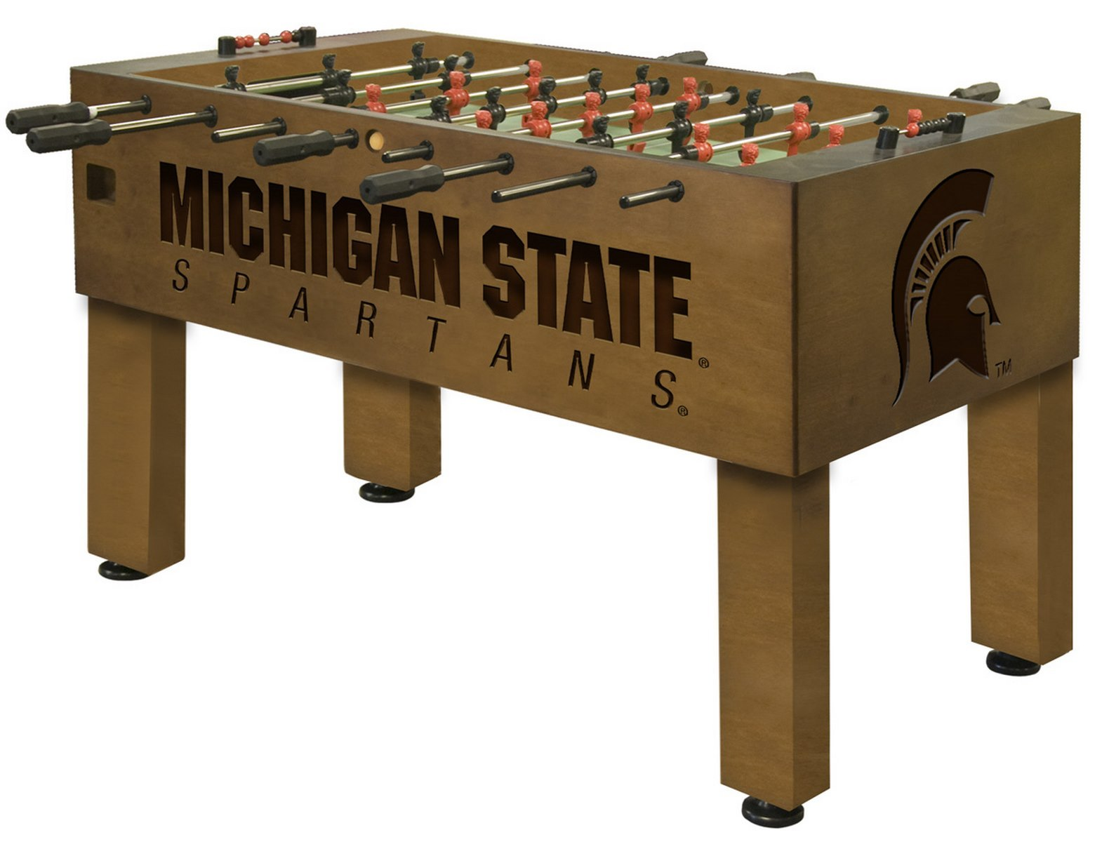 Michigan State University Foosball 100 made in USA : Michigan State University Foosball from www.diamondbackbilliards.com size 1570 x 1200 jpeg 159kB