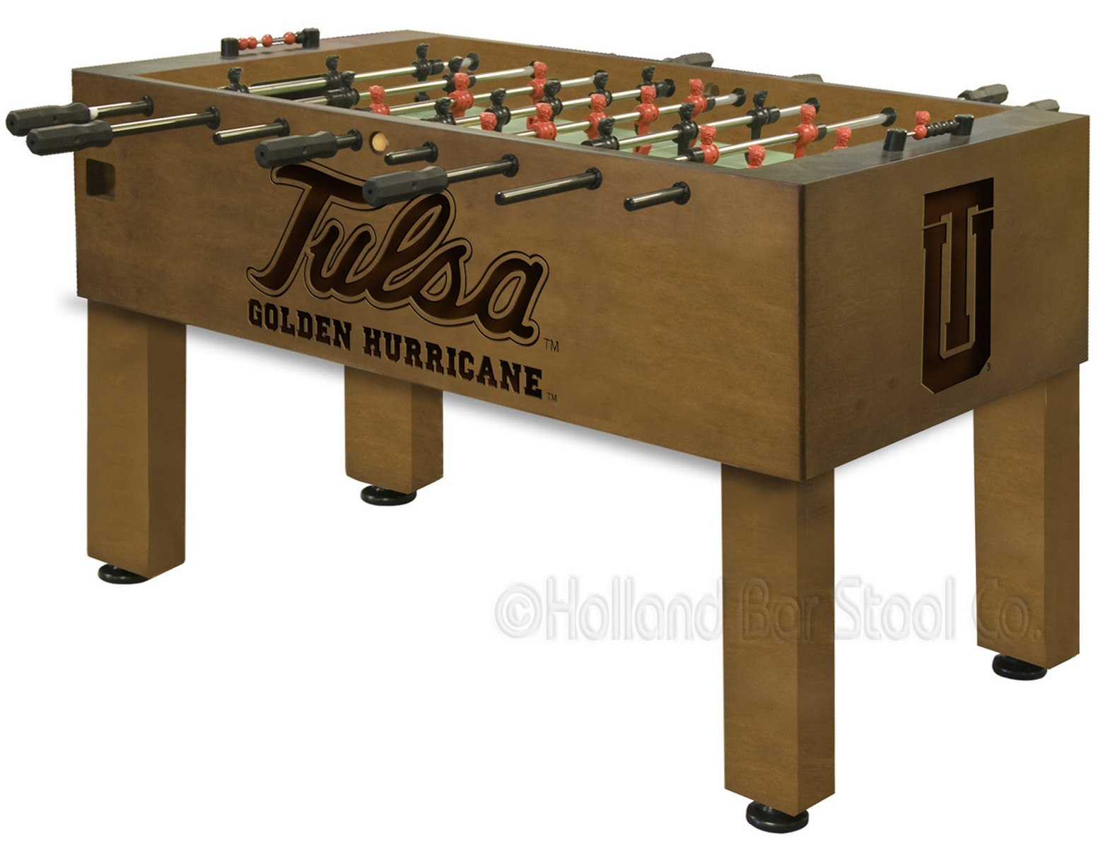 University Of Tulsa Foosball 100 Made In Usa