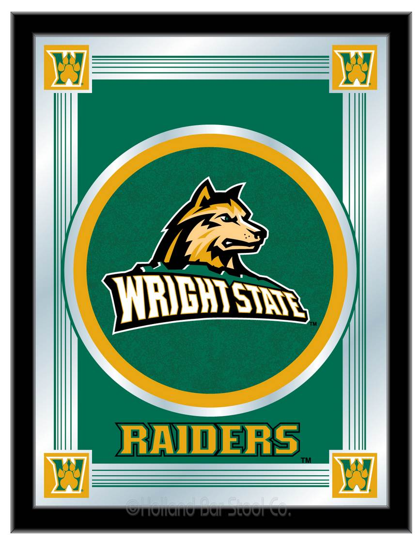 Wright State University Mirror 100 Made In Usa