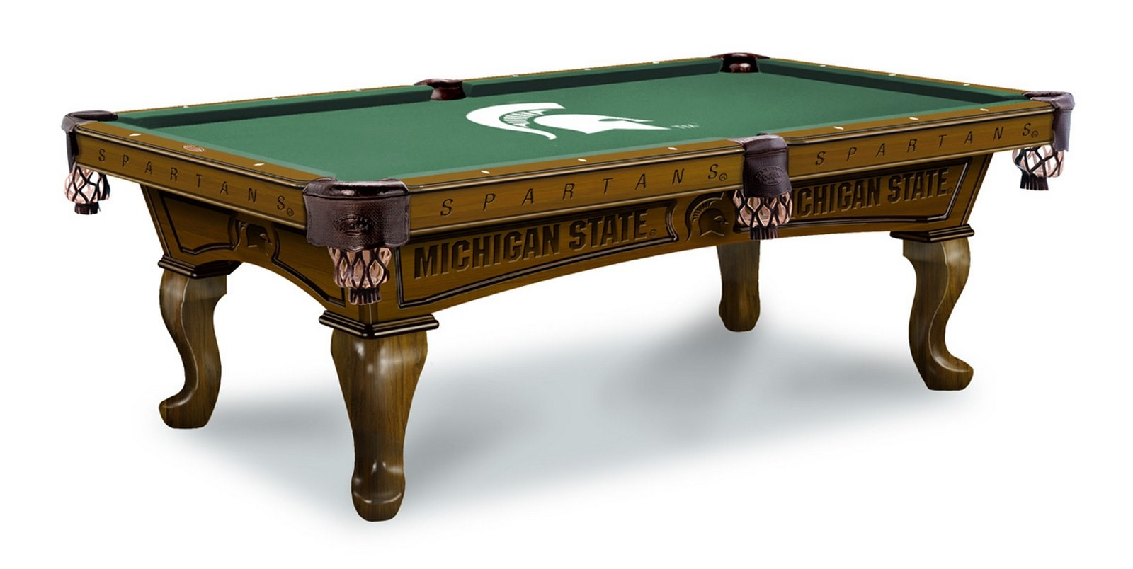 Michigan State University Pool Table 100% made in USA