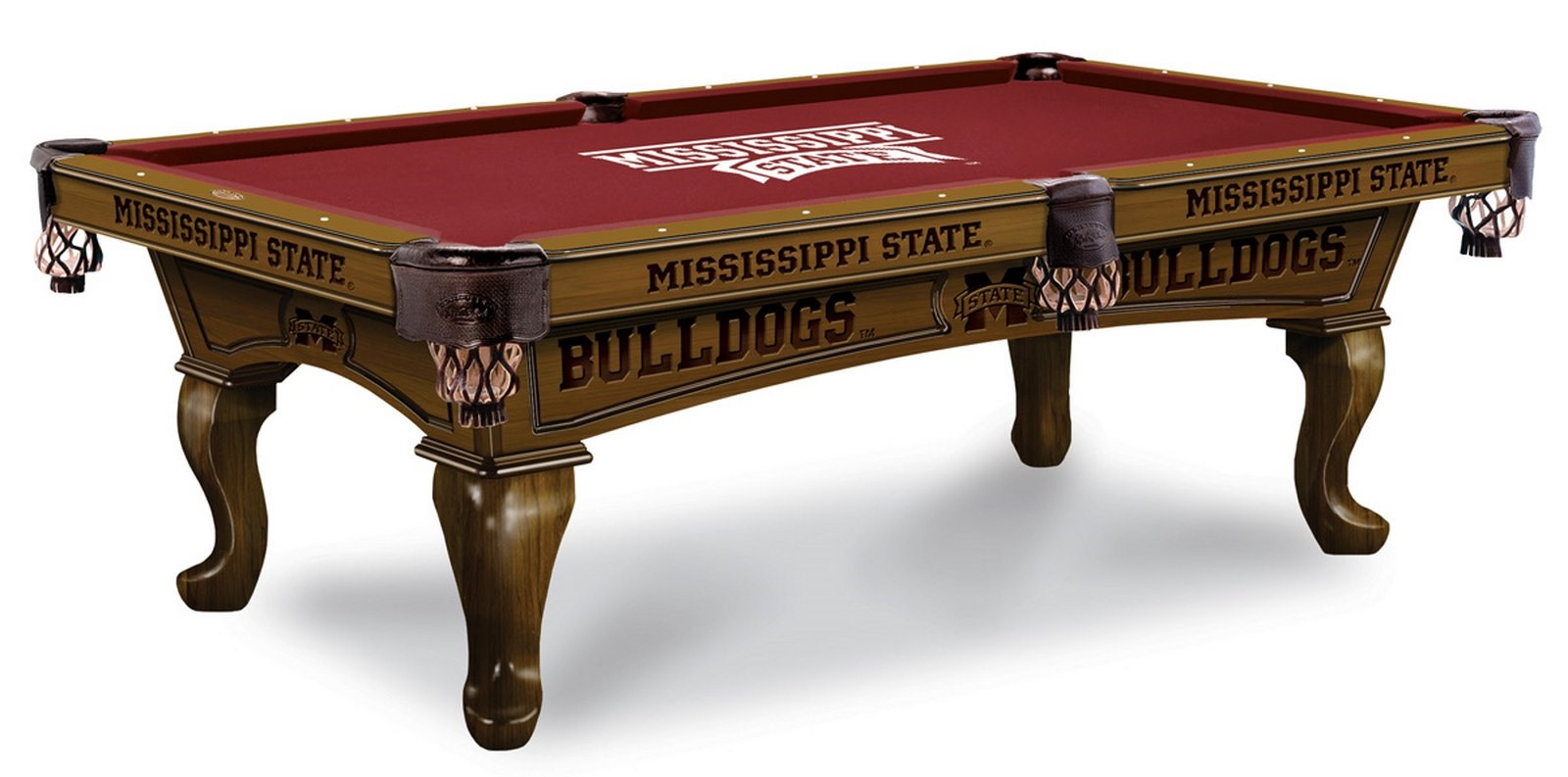 Mississippi State University Pool Table 100 made in USA  : Mississippi State University Pool Table from www.diamondbackbilliards.com size 1600 x 793 jpeg 162kB