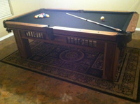 hacienda pool table