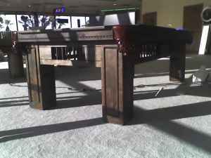 Hacienda Western Pool Table
