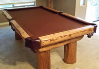 lodge pool table