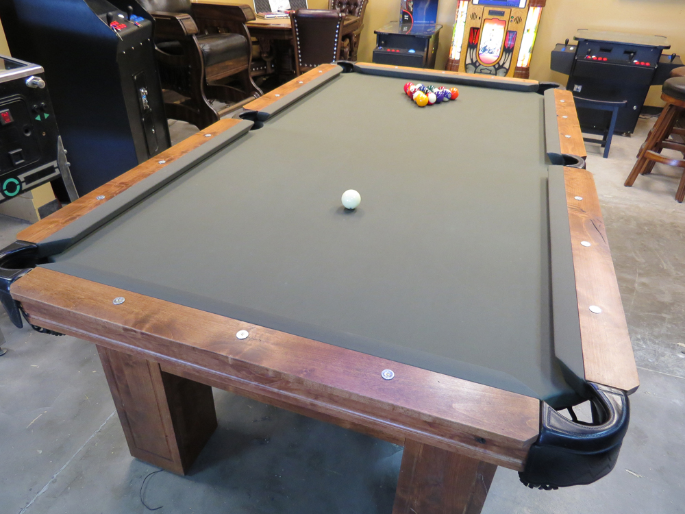 Charming Rustic Country Pool Table