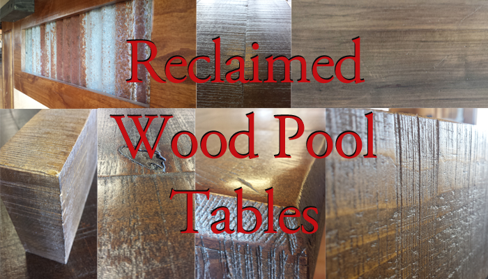 Reclaimed Wood Pool Tables. Diamondback Billiardsu0027 Rustic San Antonio ...