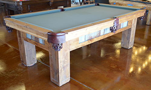 custom 6 foot pool tables