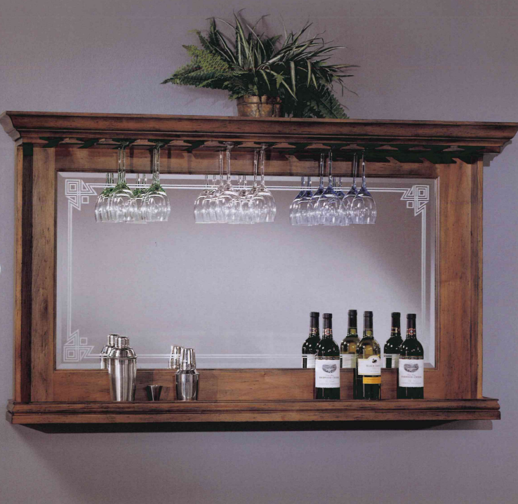 Back Bar Mirror Model 9375