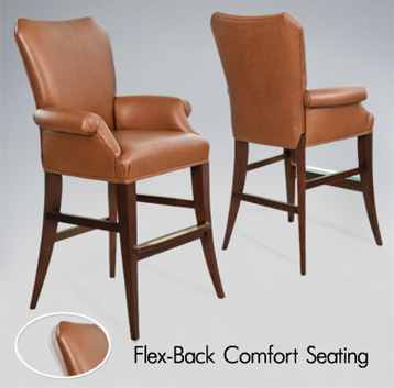 darafeev barstool with flex back