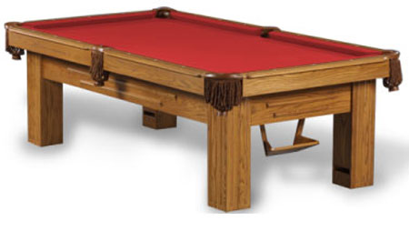 oppenheimer pool table