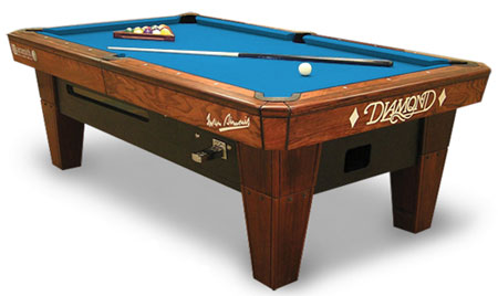 Diamond Billiards Pro Am Pool Table - Tournament choice pool table