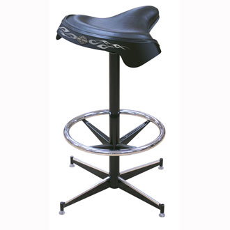 saddle barstool