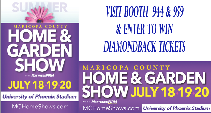 March Maricopa County Home Garden Show Location Map