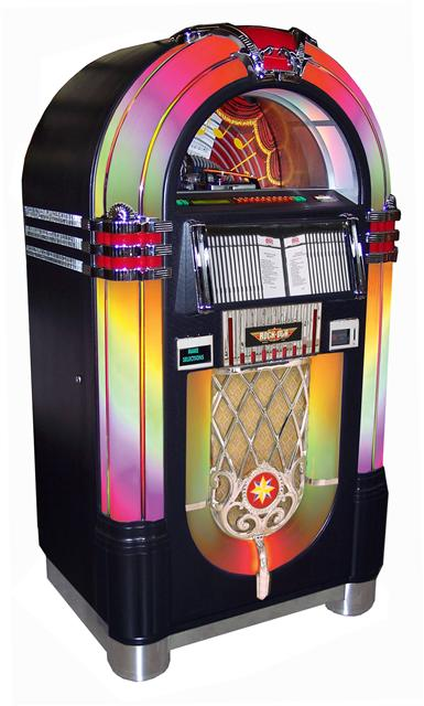 black bubbler jukebox
