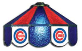 Chicago Cubs Three Lamp Pool Table Lights