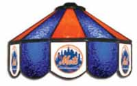New York Mets Three Lamp Pool Table Lights