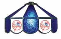 New York Yankees  Three Lamp Pool Table Lights