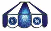 San Diego Padres  Three Lamp Pool Table Lights