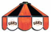San Francisco Giants  Three Lamp Pool Table Lights
