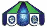 Seattle Mariners Three Lamp Pool Table Lights
