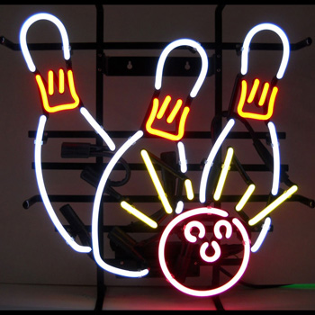 Bowling Strike Neon Sign