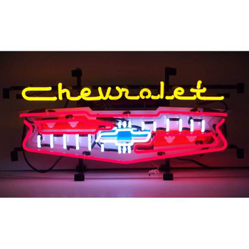 GM Chevrolet Grill Neon Sign