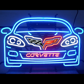 GM Corvette C6 Neon Sign