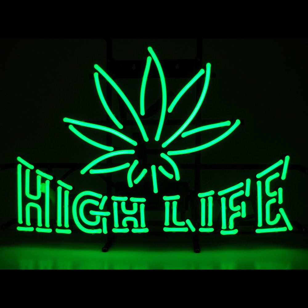 High Life Neon Sign 100% made in USA, manufactured by ...