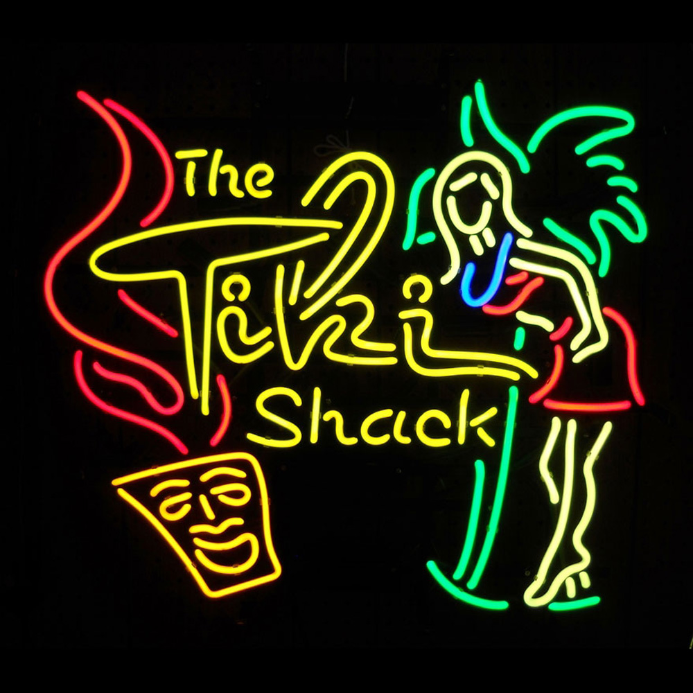 Tiki Shack Neon Sign 100% made in USA, manufactured by ...