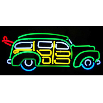 Surfin Woody Neon Sign