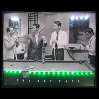 rat pack playing pool
