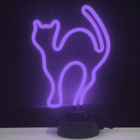 PURPLE CAT NEON