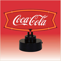 COCA-COLA FISHTAIL NEON