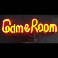 GAME ROOM NEON SCULPTURE