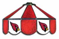 Arizona Cardinals NFL Three Lamp Pool Table Lights