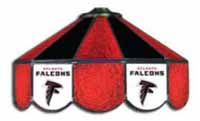 Atlanta Falcons NFL Three Lamp Pool Table Lights