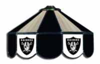 NFL Three Lamp Pool Table Lights